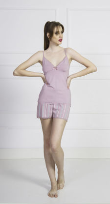 صورة ENKI WOMEN VISCON SHORTS SET