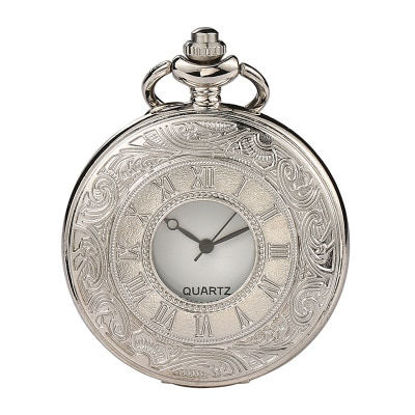 Picture of Men's Pocket Watch Retro Pointer Display Watch Accessory