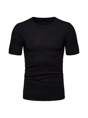 صورة Men's T Shirt Fashion O Neck Slim Top
