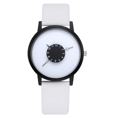 Picture of Men's Fashion Watch Creative Design Dial Business Quartz Watch Accessory