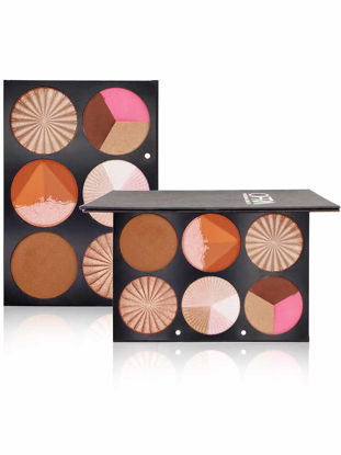 Picture of Shadow Compact 6 Colors Matte Long Lasting Volumizing Highlighter Powder Facial Concealer