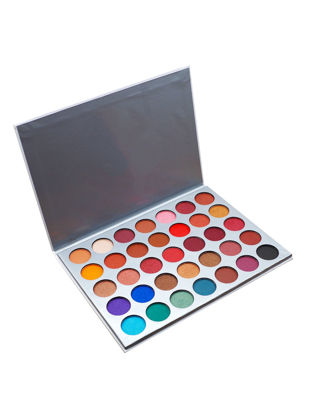 صورة 35 Colors Eyeshadow Palette Professional Lasting Pigment Eye Makeup