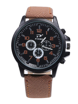 Picture of Men's Fashion Watch Simple Style All Match Casual Fine Watch Accessory