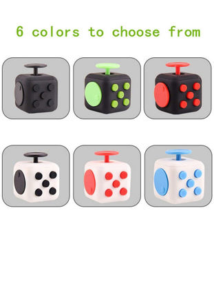 صورة The Second Generation of Anti-anxiety Decompression Rubik's Cube Dice Fidgety Toys