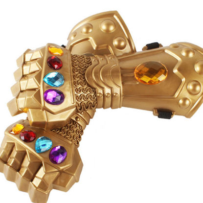 صورة Kids Toy Gloves Infinity War Cosplay Toys For Child Party Game