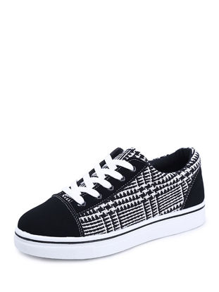 Picture of Women's Fashion Sneakers Comfy Plaid Chic Non-Slip Shoes