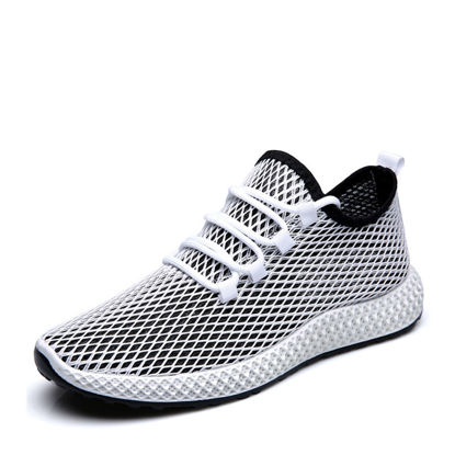 صورة Men's Sports Fashion Shoes Color Block Thick Sole Comfy Running Shoes