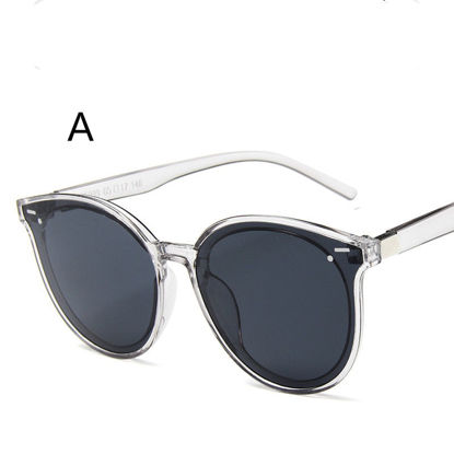Picture of Men's Sunglasses UV Protection Big Round Frame Chic Eyewear