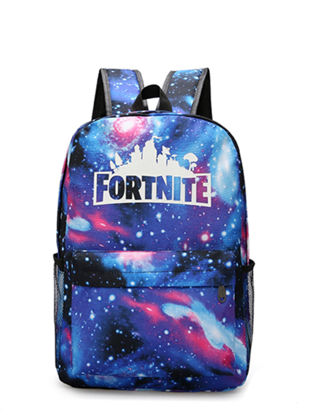 صورة Fortnite Students Backpack Creative Design Colorful Faddish School Bag