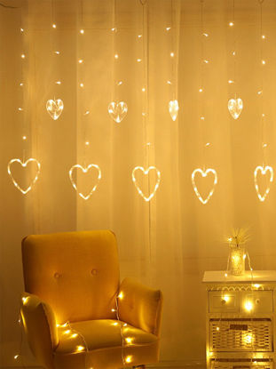 Picture of LED String Light Sweet Romantic Heart Shaped Decorative Light