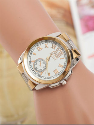 Picture of Men's Wrist Watch Big Dial Trendy Business Casual Quartz Watch Accessory