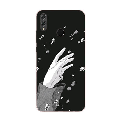 Picture of Huawei Series Phone Cover Simple Hand Pattern Protective Case