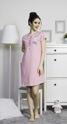 Picture of ENKI WOMEN COTTON ROSEBLOOM TUNIC SET