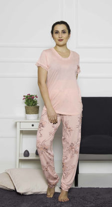 Picture of ENKI WOMEN XXL VISCON IMPATIENS PINK PAJAMA SET