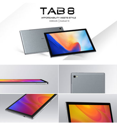 Picture of Blackview Tab 8 4G Tablet Octa Core 10.1 inch 1200*1920 FHD 4GB+64GB 13MP Android 10 Dual SIM 4G LTE Tablet PC