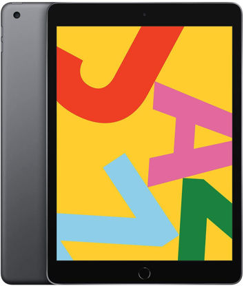 Picture of Apple iPad (10.2-inch, Wi-Fi, 128GB) - Black / Silver