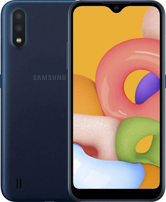 Picture of Samsung Galaxy A01 16GB/2GB RAM (SM-A015M/DS) Dual SIM, 5.7- Black/Red /Blue
