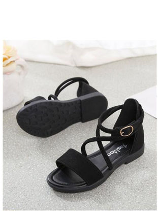 Picture of Girl's Sandals Flat Kid's 2018 New Design Shoes