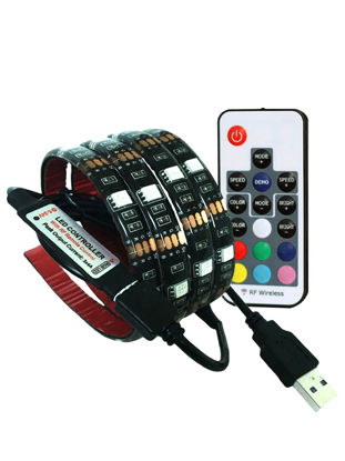 Picture of String Light Removeable Remote Control Changeable TV Background Decorative Light