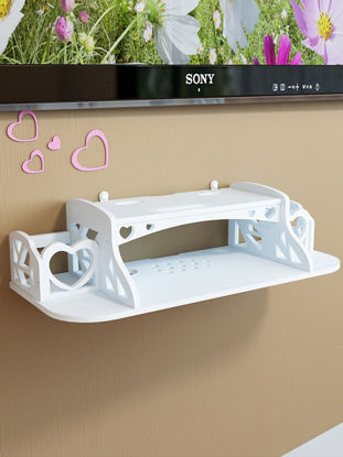 Picture of Storage Rack Creative Trackless Multi Function Hollowed Out Wall Organizer
