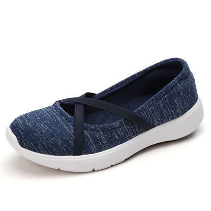 Picture of Women's Loafers Soft Sole Lightweight Casual Slip Ons