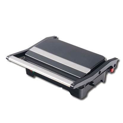 Picture of ENZO Household Double Plate Dismountable Oil Collector Function Electric contact Sandwich press panini Grill With Thermostat