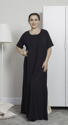 Picture of ENKI WOMEN  COTTON TUNIC- BLACK