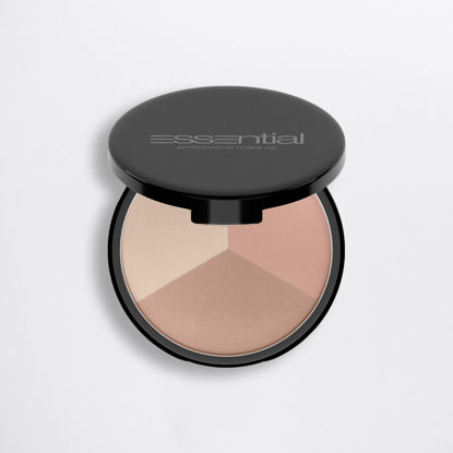 Picture of NAKED - COMPACT FACE POWDER - WARM  - TRIO20