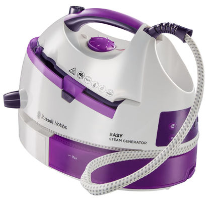 Picture of Russell Hobbs Easy Steam Generator Iron 20330, 2800 W - White and Purple