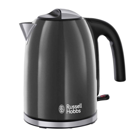 Picture of Russell Hobbs 20414 Colours Plus Cordless Jug Kettle, Grey