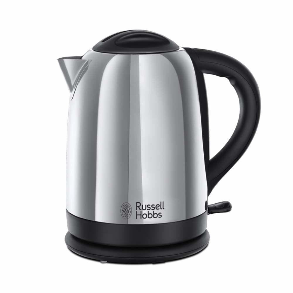 Picture of Russell Hobbs Dorchester Kettle, Polished Stainless Steel, 3000 W, 1.7 Litre