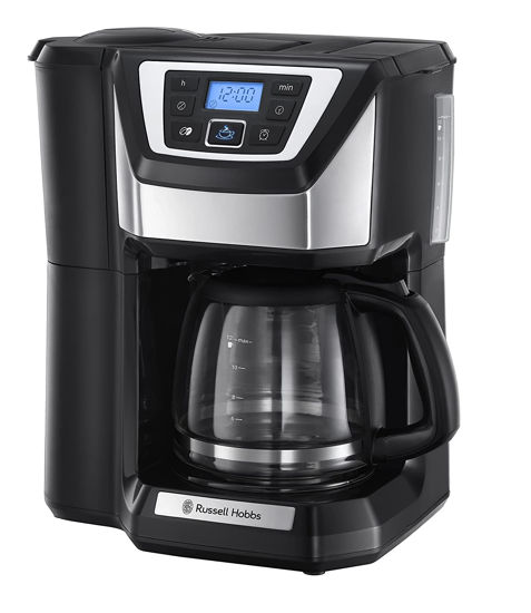 Picture of Russell Hobbs Chester Grind and Brew Coffee Machine 22000 - Black