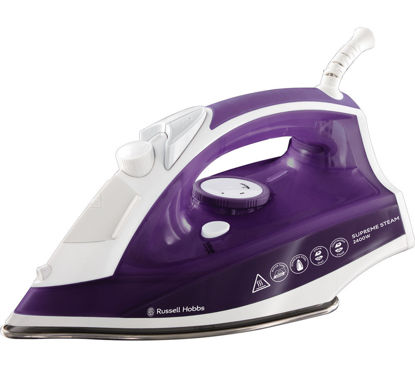 صورة RUSSELL HOBBS Supremesteam 23060 Steam Iron - Purple