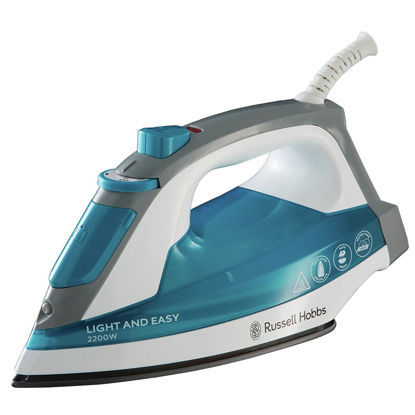 صورة Russell Hobbs Light & Easy Blue Steam Iron 23590