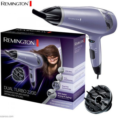 Picture of REMINGTON D3711 DUAL FAN TURBO IONIC HAIR DRYER