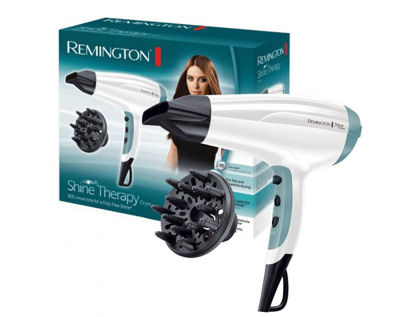 Picture of Remington D5216 Shine Therapy Women Powerful 2300W Frizz-free Hair Dryer Diffuser