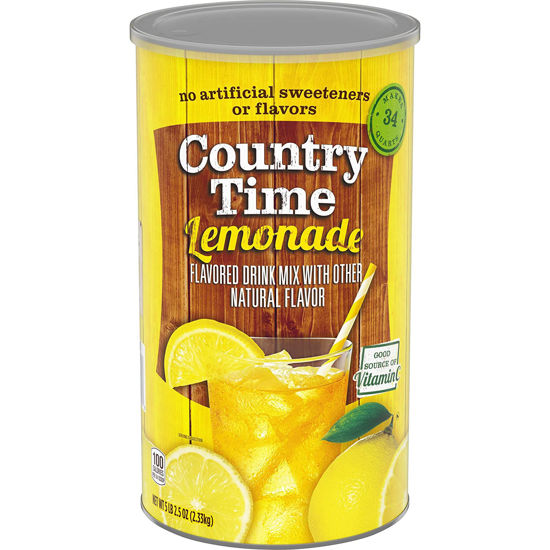 Picture of Country Time Lemonade Drink Mix عصير الليمون