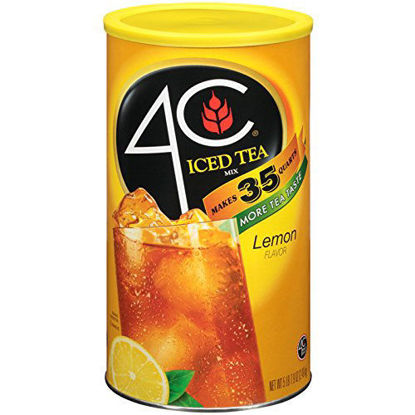 Picture of 4C Iced Tea Mix Lemon 35 qt. شاي مثلج