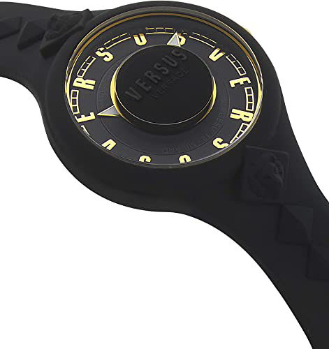 Picture of Versus by Versace Tokai Women's VSP1R0319 Black Dial Black Silicone Strap Watch
