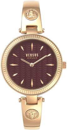 Picture of Versus by Versace Women's Brigitte Quartz Strap, Rose Gold, 11.5 Casual Watch (Model: VSPEP0419)