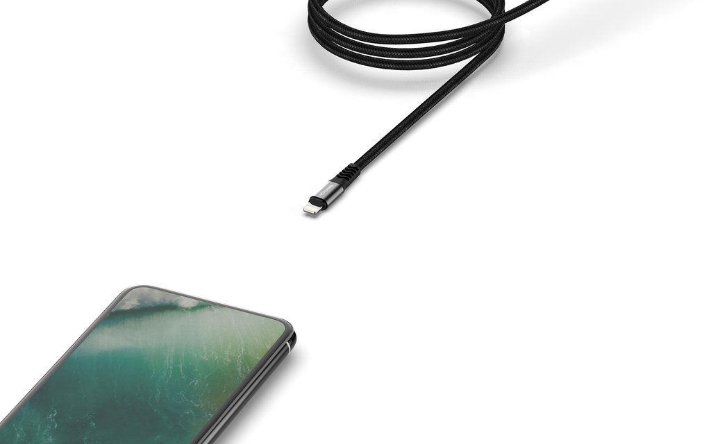 Picture of Baykron Kevlar Cable Type-C to Lightning 2m