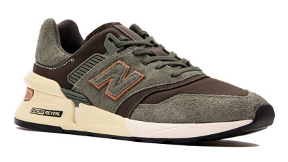 صورة NB Lifestyle Mens Shoes - MS997LOF (Green Camo)