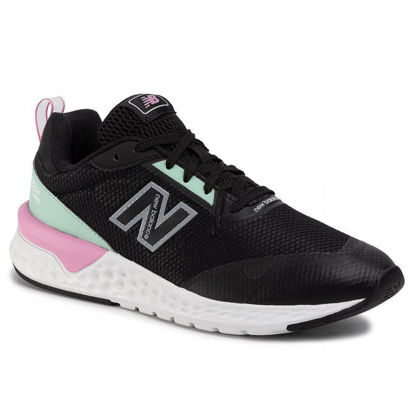 Picture of NB Lifestyle Womens Shoes - WS515RA2 (Black, Green)