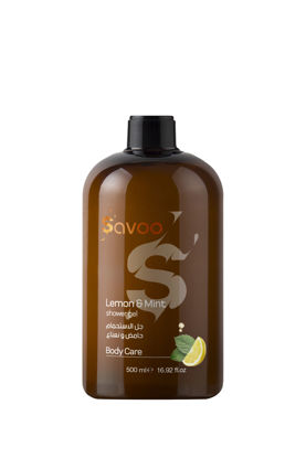 Picture of SAVOO Lemon & Mint Shower Gel 500ml