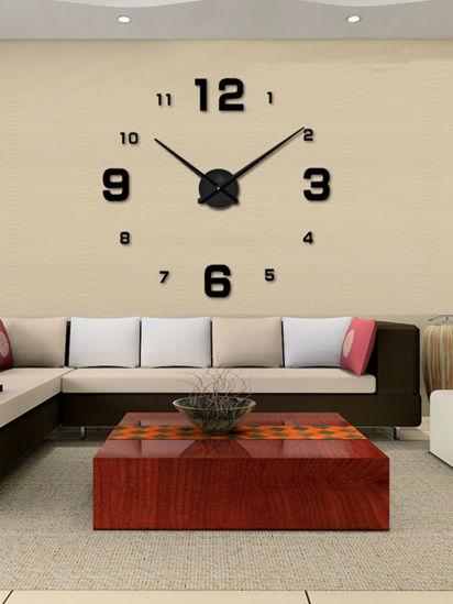 Picture of Wall Clock Simple Style Numbers Acylic Decorative Home Wall Decor Clock -