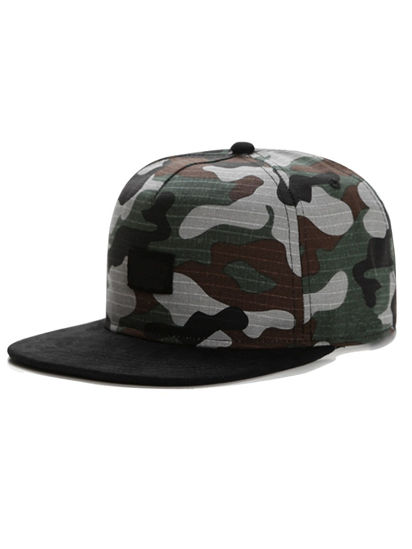 Picture of Men's Sports Baseball Cap Camouflage Pattern Outdoor Hat Accessory - Size: One Size