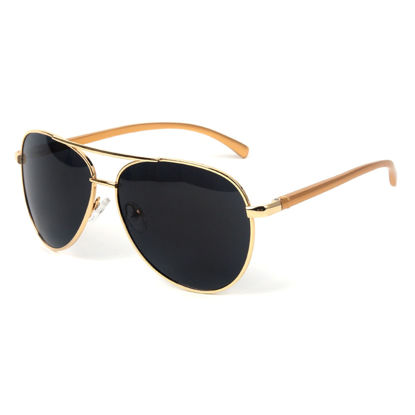 Picture of Men's Sunglasses Light Weight UV Protection Metal Frame Polarizing Eyewear - Size: One Size