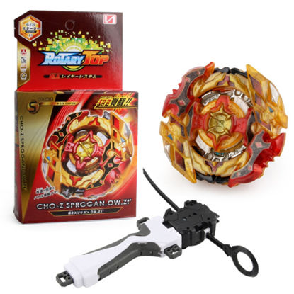 Picture of Spinning Top With Handle Puller Launcher Assembly Combat Gyro - Size: One Size