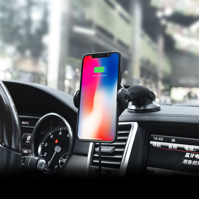 Picture of Mobile Car Holder & Wireless Charger  Hoco CA35 Plus