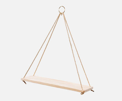 Picture of 1Pc Wall Shelf Modern Creative Nordic Style Wall Hanging Storage Rack Decor